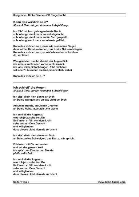 Top Five Du Bist Fur Mich Das Leben Songtext Story Medicine