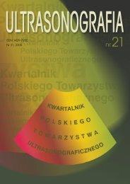 Ultrasonografia nr21 [4.58 Mb] - Kwartalnik