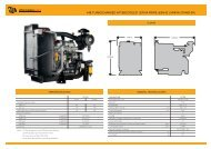 448 TURBOCHARGED AFTERCOOLED - JCB Power Systems
