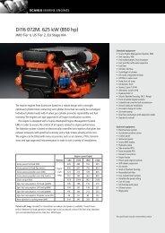 DI16 072M. 625 kW (850 hp)
