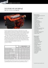 DI13 072M. 441 kW (600 hp)