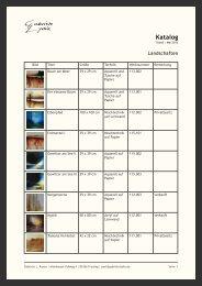 Katalog (PDF 273 kB) - Gabriele Lydia