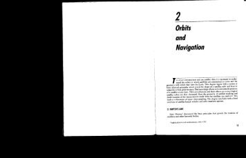Satellite Meteorology Book Ch2: Orbits and Navigation