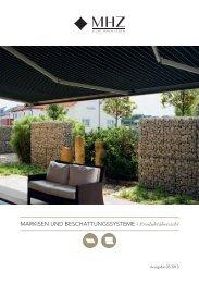MHZ-Broschuere-Produktuebersicht-Markisen ...