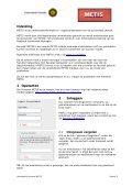Handleiding: Personal METIS - Universiteit Utrecht - Page 3