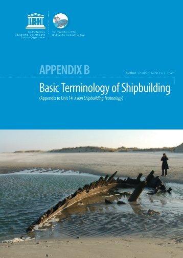 APPENDIx b - Programma maritiem erfgoed