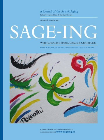 Download - Sage-ing With Creative Spirit, Grace and Gratitude