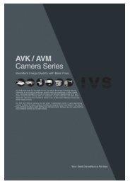 AVK / AVM Camera Series - VIAKOM CZ sro