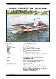 Pdf-Download Gebrauchtboot LEHMAR 700/HT