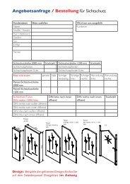 Bestellformular Sichtschutz (PDF)