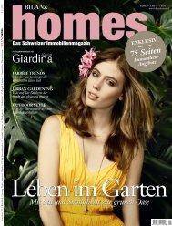 75 Seiten Mit Stil und Sinnlichkeit zur grünen Oase - BILANZ Homes