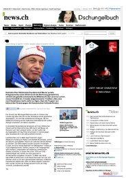 news.ch - Ueli Maurers Krieg gegen das ... - dr. regula stämpfli