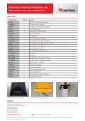 Hazardous material emergency set - Rosenbauer - Page 4