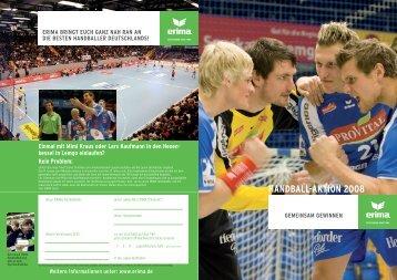 Erima Handball Aktion 2008 (5MB) - Sporttrikot