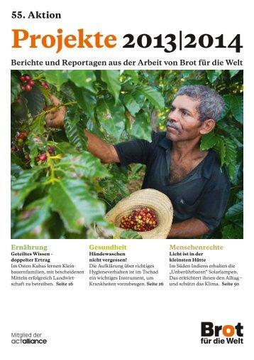 Projekte 2013|2014 - Schleswig-Holstein | Brot für die Welt