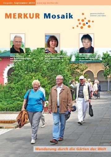 September 2013 - Wohnungsgenossenschaft MERKUR eG
