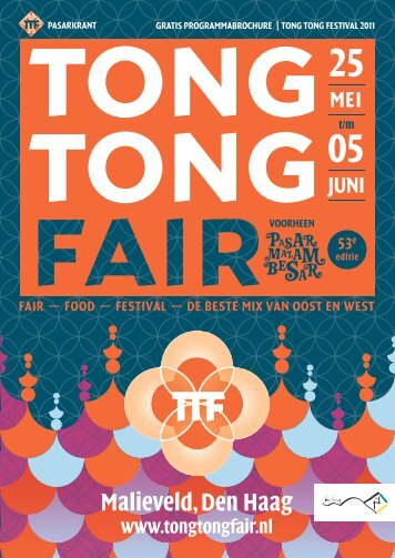 Pasarkrant 2011 - Stichting Tong Tong