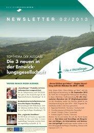 Die 3 neuen in der entwick- lungsgesellschaft - Region Hesselberg