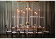 Osteria Casuarina – 2014/2015 Packages - Casuarina Weddings