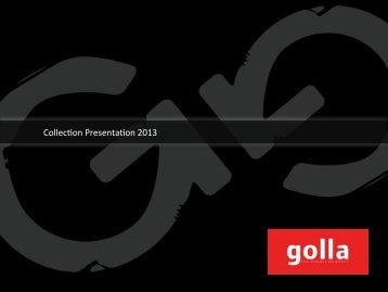 Catalogue 2013 - Golla