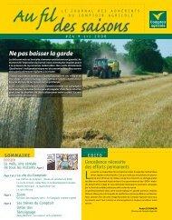 Fil Des Saisons #24 Eté 2008 - Comptoir Agricole