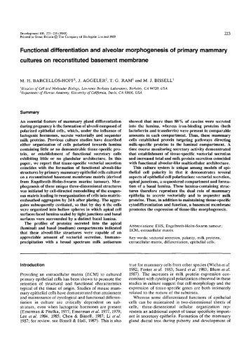 G - Development - The Company of Biologists