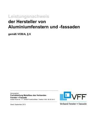 Leistungsnachweis - Window.de