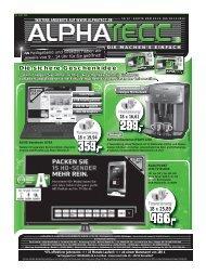 Prospekt runterladen - AlphaTecc