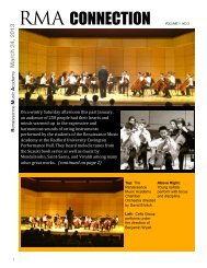 newsletter 3 is now available for download - Renaissance Music ...