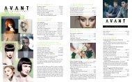 mission statement - Avant Hair & Skin Care Studio