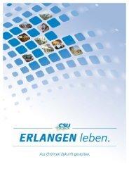 Das Wahlprogramm der CSU Erlangen