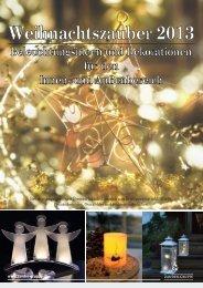 Weihnachtszauber 2013 - Lichtkultur Freiburg