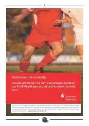 FC Ueberlingen Festschrift - FC 09 Ãœberlingen e.V.