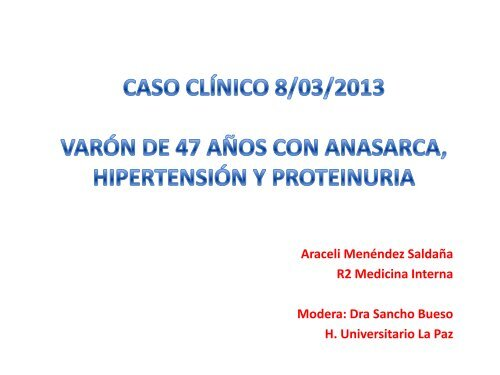 Síndrome nefrótico pautas clínicas hipertensión