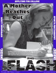 A Mother Reaches Out - My High School Journalism