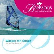 Wasser mit Sprizz - Barbados