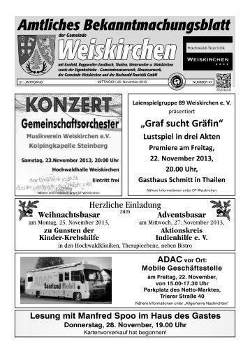 Ortsteil Rappweiler-Zwalbach - Weiskirchen