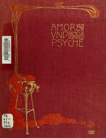 Amor und Psyche; Märchen von Apulejus. Übertragen von Eduard ...