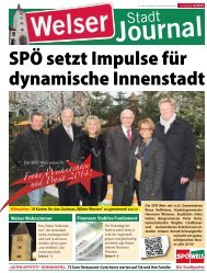 SPÖ setzt Impulse für dynamische Innenstadt - SPÖ Wels