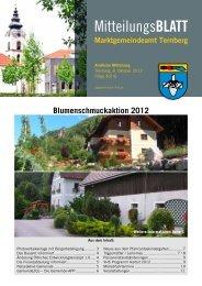Mitteilungsblatt Oktober 2012 (731 KB) - .PDF - Ternberg