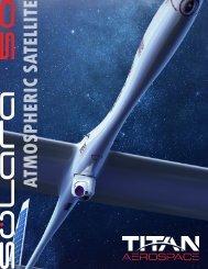 ATMOSPHERIC SATELLITE - Titan Aerospace