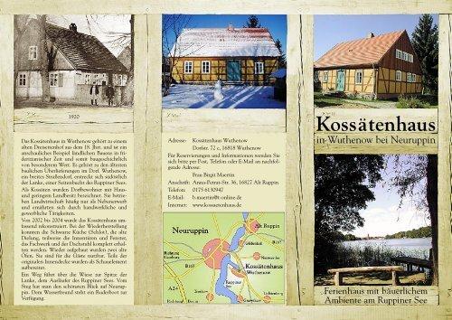 Hausprospekt - Kossätenhaus