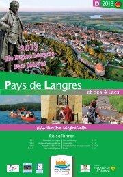 Reiseführer - Office de tourisme Pays de Langres