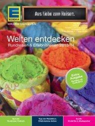 Welten entdecken - EDEKA-Reisen Verlag