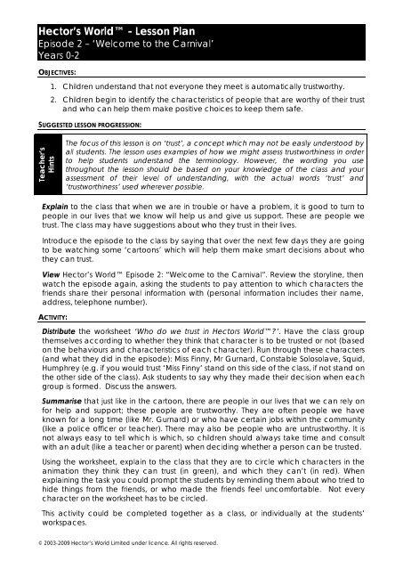characteristics of hector