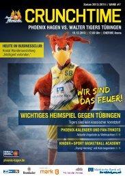 WALTER Tigers Tübingen - Phoenix Hagen