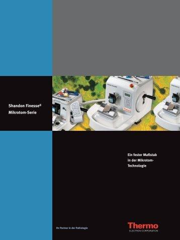 Shandon Finesse®-Mikrotom-Serie