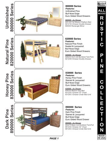 FF Catalog V13.1   No Prices   Blackledge Furniture