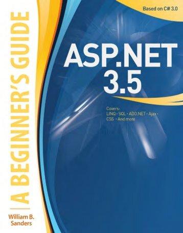 ASP.NET 3.5: A Beginner's Guide - www.mustafaof.com