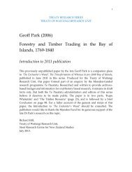 Forestry and Timber Trading in the Bay of Islands 1769-1840